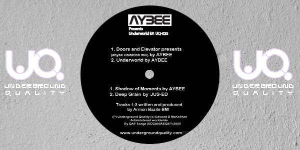 AYBEE - Underworld EP (UQ025)
